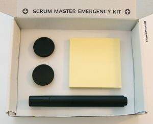 Scrum Master Emergency Kit - Black matte-Edition