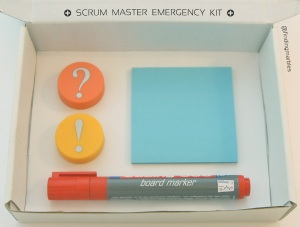 Scrum Master Emergency Kit - Bright'n'Shiny-Edition